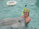 My Stingray I held in the Grand Cayman Islands