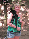 Our Spider Monkey We Got To Hold