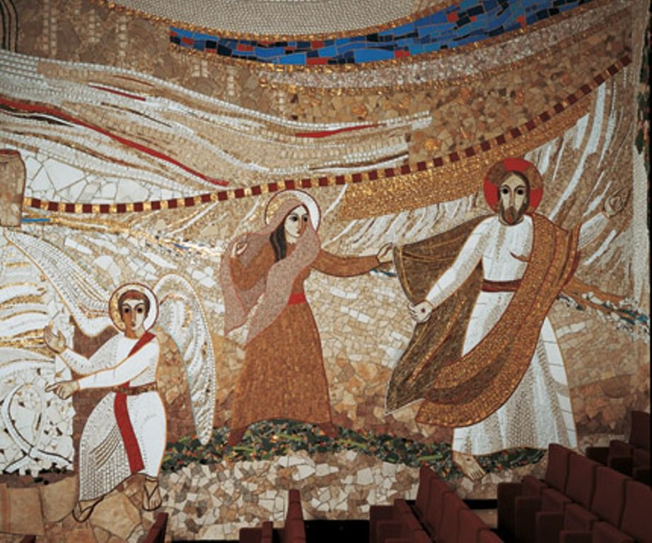 Museo Catedral de la Almudena Resurrcci%C3%B3n-+Rupnik