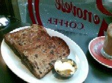 Caffe e Torta Raisin Toast