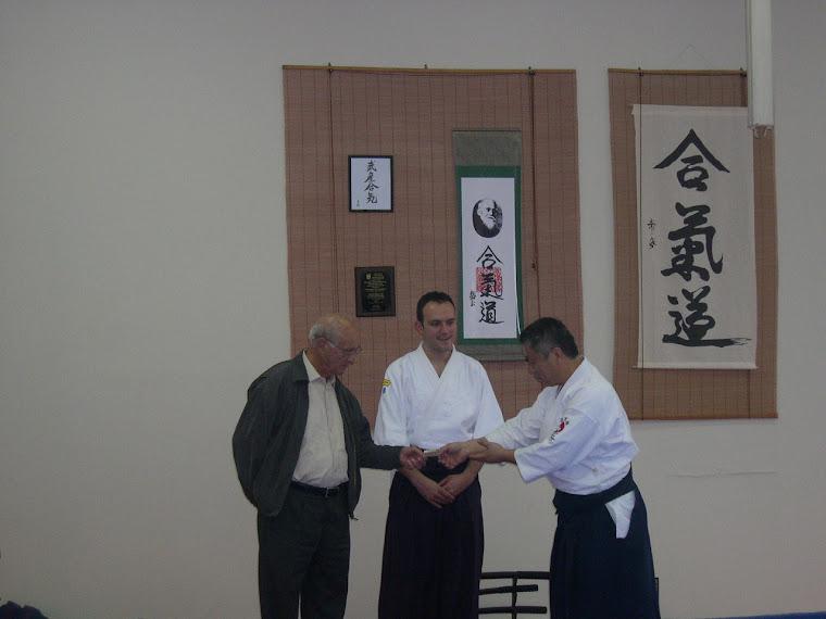 Donación del 5to. Seminario AHAN Nippon Kan Guatemala
