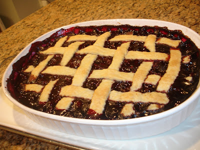 PamCakes: Giada's Simple Berry Cobbler