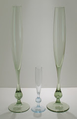 Giant 16in bud vases pat. 9284