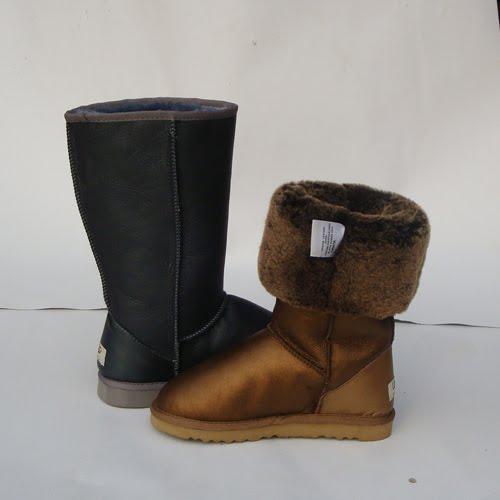 ugg australia classic tall boots (metallic pewter)