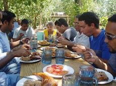 Lunch at Rancho Boyeros, bersama comrades,Cuba