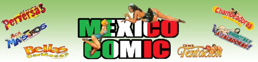 Mexico Comics Adultos