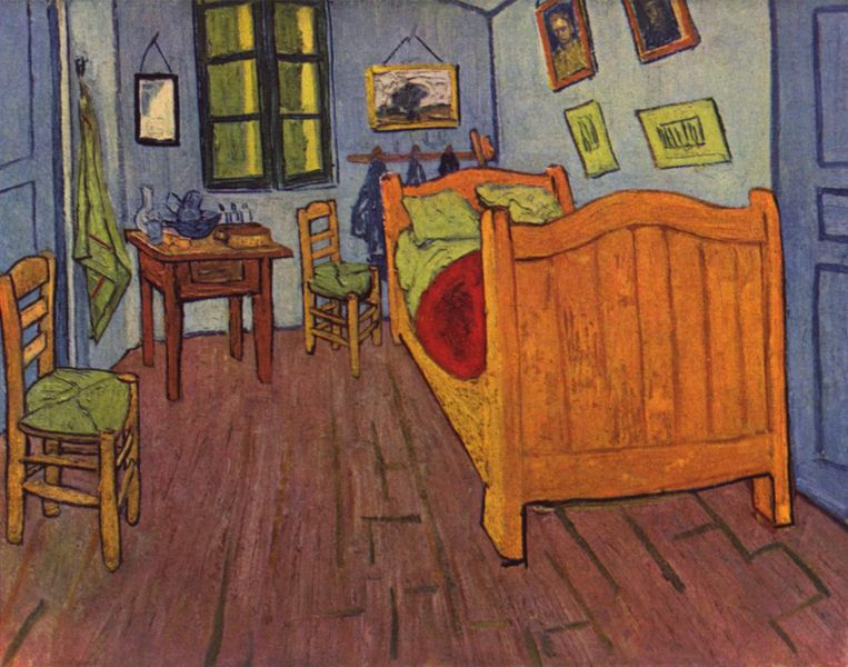 las grandes obras de arte 9 la habitaci n 1888 de vincent van gogh. Black Bedroom Furniture Sets. Home Design Ideas