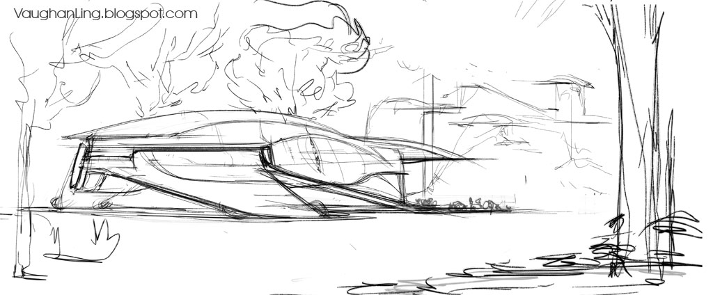 "ideas for the ""in the style of Syd Mead"" contest sponsored by Nvidia"