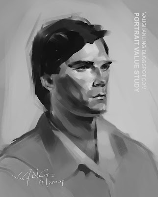 Portrait Value Study