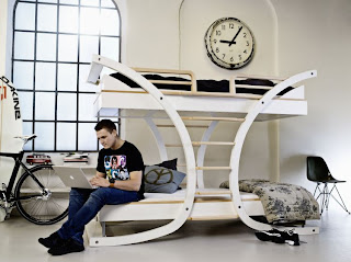 futuristic contemporary bed, image