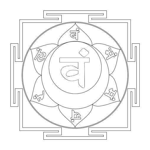 dibujos para colorear de los 7 chakras