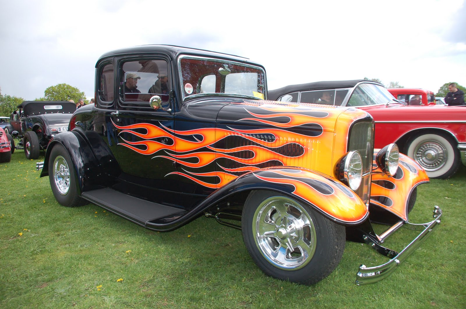 Back in the UK and yes it was raining... | Keith\'s Hot Rod Blog