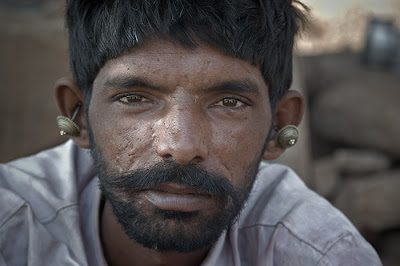 Farmer at Kileswar, Gujarat