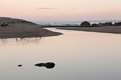 Lagoon, twilight