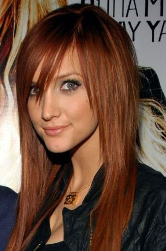 Brown Hairstyles With Fringes. long hairstyles 2011 with