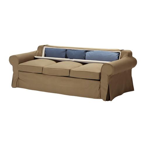 Ektorp murbo divano letto a 3 posti divano letto for Supporto asciugatrice ikea