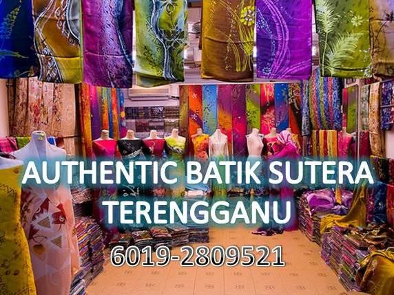 Authentic Batik Sutera Terengganu