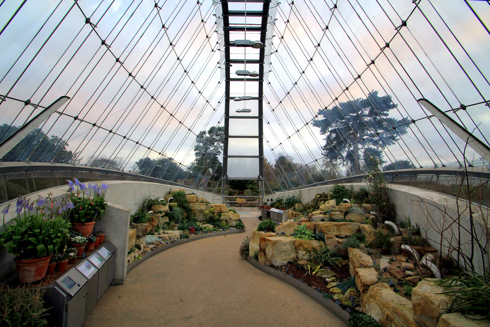 An architectural pilgrimage davies alpine house at kew for Architectural greenhouse