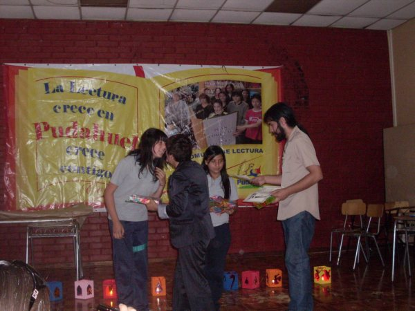 Bibliotecas Escolares CRA de Pudahuel