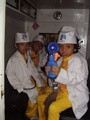 Smart Bee Kid as Doctor in KidZania