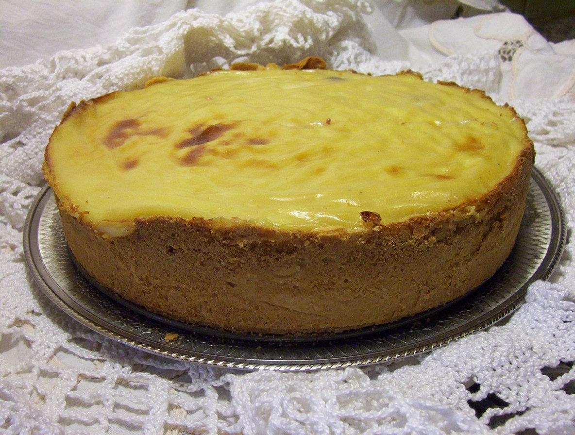 Kuchen de grosellas verdes