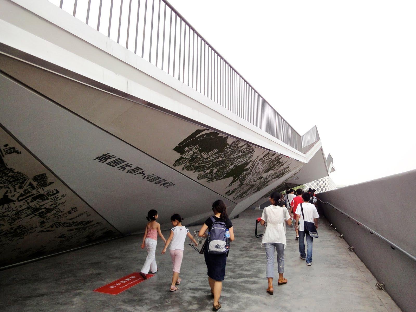 Human39s Scribbles Shanghai Expo UK Pavilion