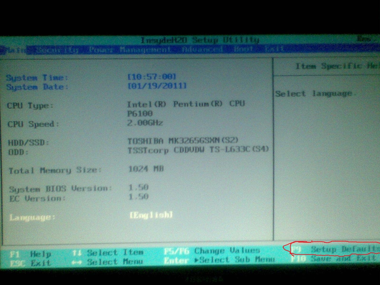 Driver tombol fn toshiba l645