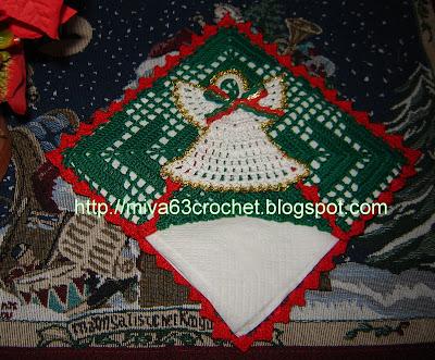 Miva crochet navidad 2007 esta bota navidea la hice siguiendo las indicaciones del paso a paso de mis amigas rosely y mary en su blog fandeluxe Images