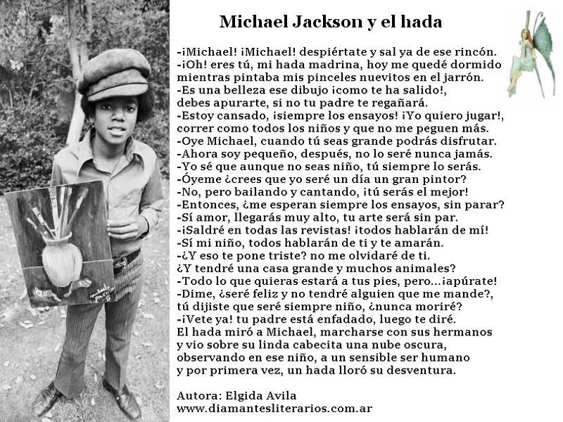 Michael y el Hada de Elgida Avila | MICHAELFOREVER