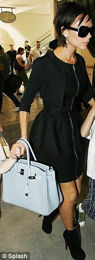 Fashion Addict Victoria Beckham Loves Her A Birkin Bag