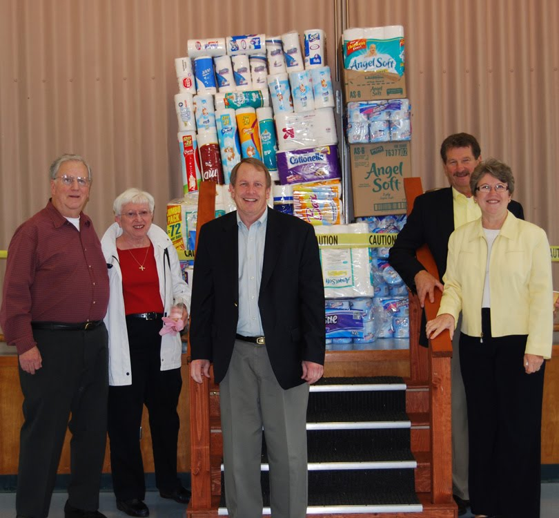 Fish wrap thanks to st luke 39 s for Fish food bank tacoma