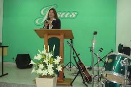 Pregando na Congregacional de São Gonçalo