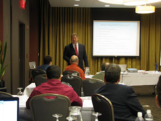 Dr. Martin presenting to the DentistryForDiabetics doctors, Richmond, VA