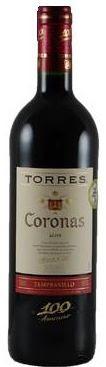 coronas Coronas 2005   Tempranillo (Torres)