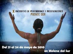 X Encuentro de Performance e Intervenciones, Puente Sur. Melena del Sur. La Habana Cuba