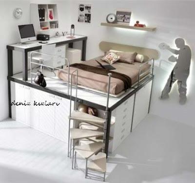 yer kaplamayan genç yatakları