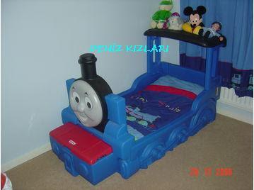 tren bebek beşiği