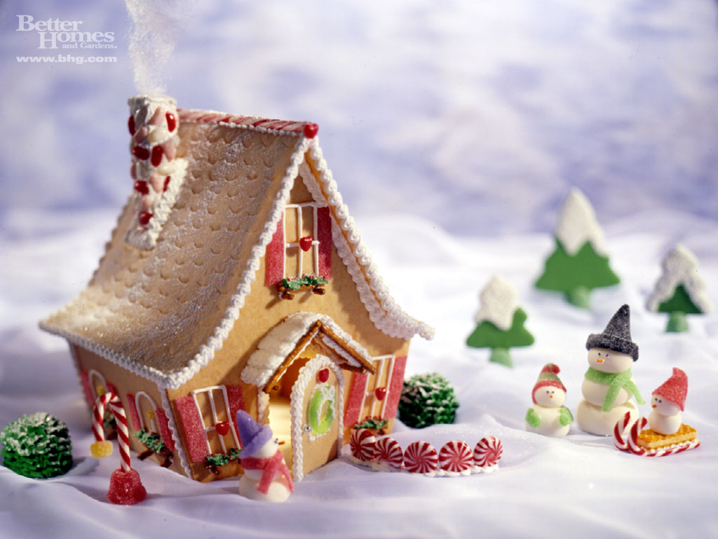 Idea Gingerbread Housecute