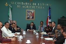REUNION CON SECRETARIO DE AGRICULTURA