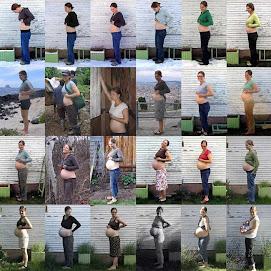 Hafta hafta gebe fotoğrafları