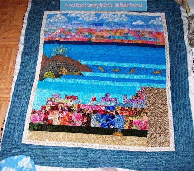 First Landscape Quilt