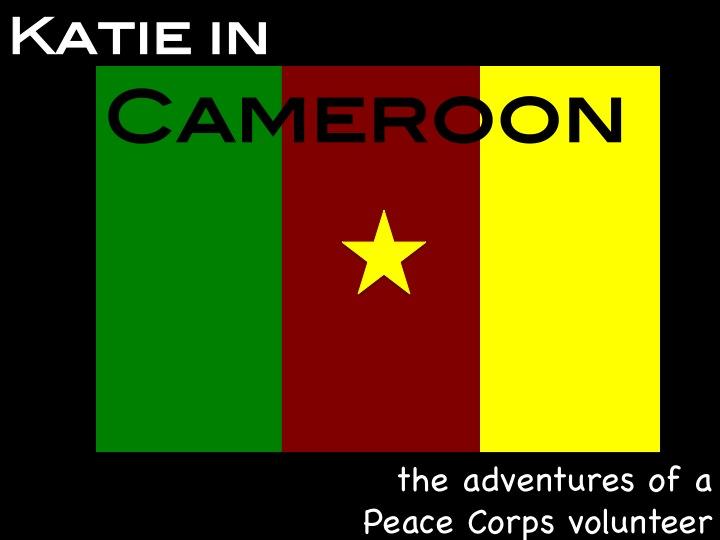 Katie in Cameroon
