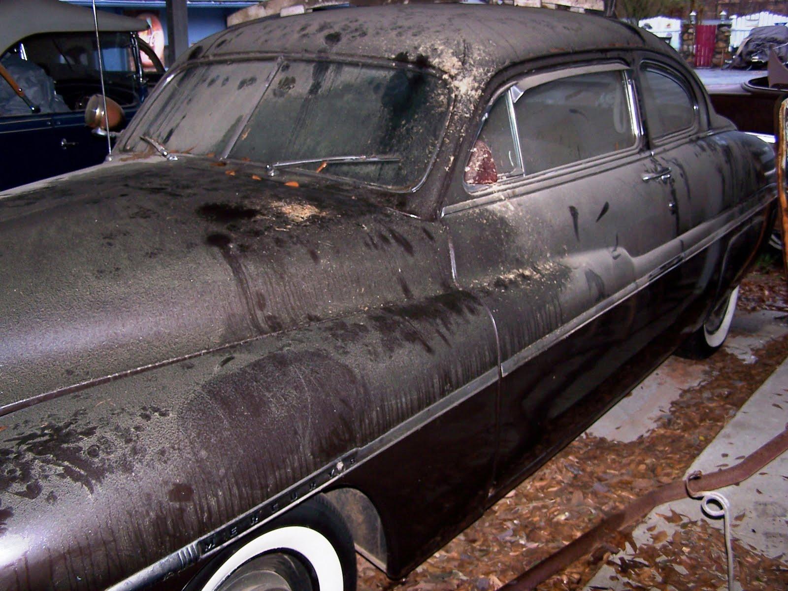 1950 Mercury as found