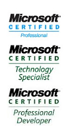 My Microsoft Certifications