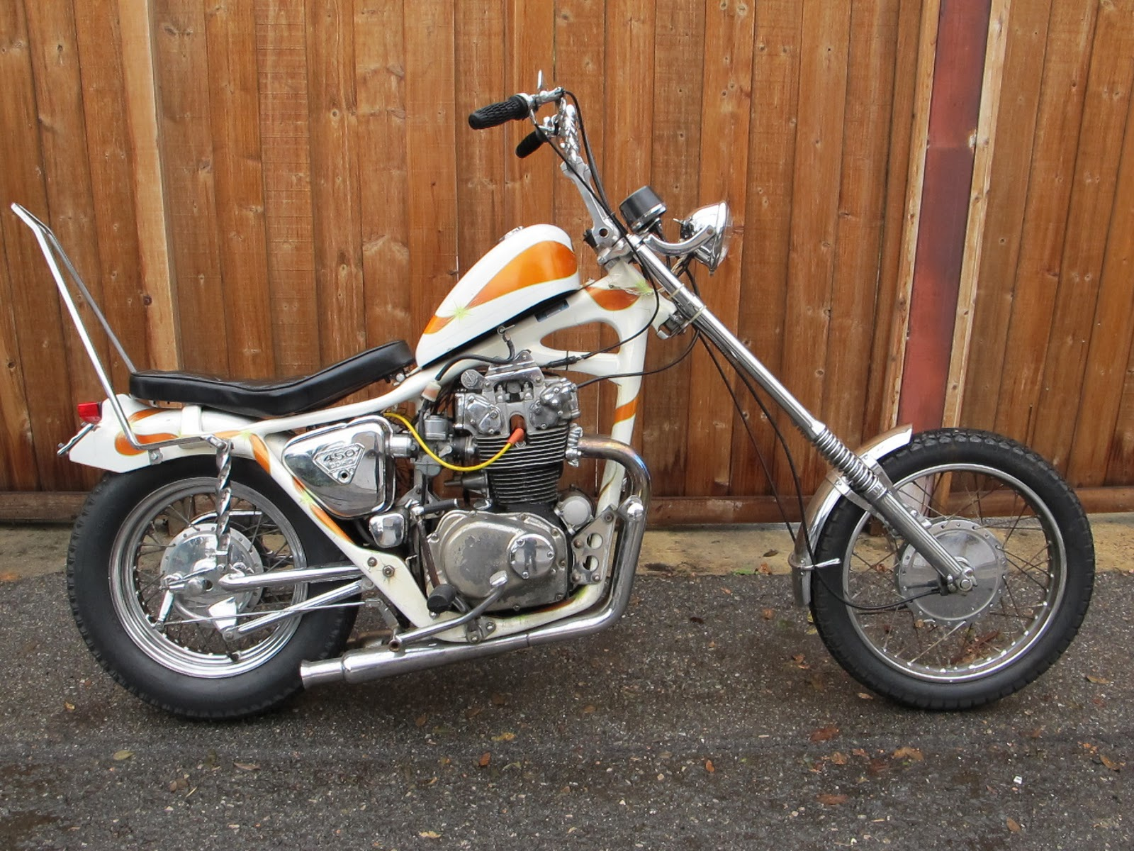 Freedom machinery acc honda chopper for sale for Honda frisco service