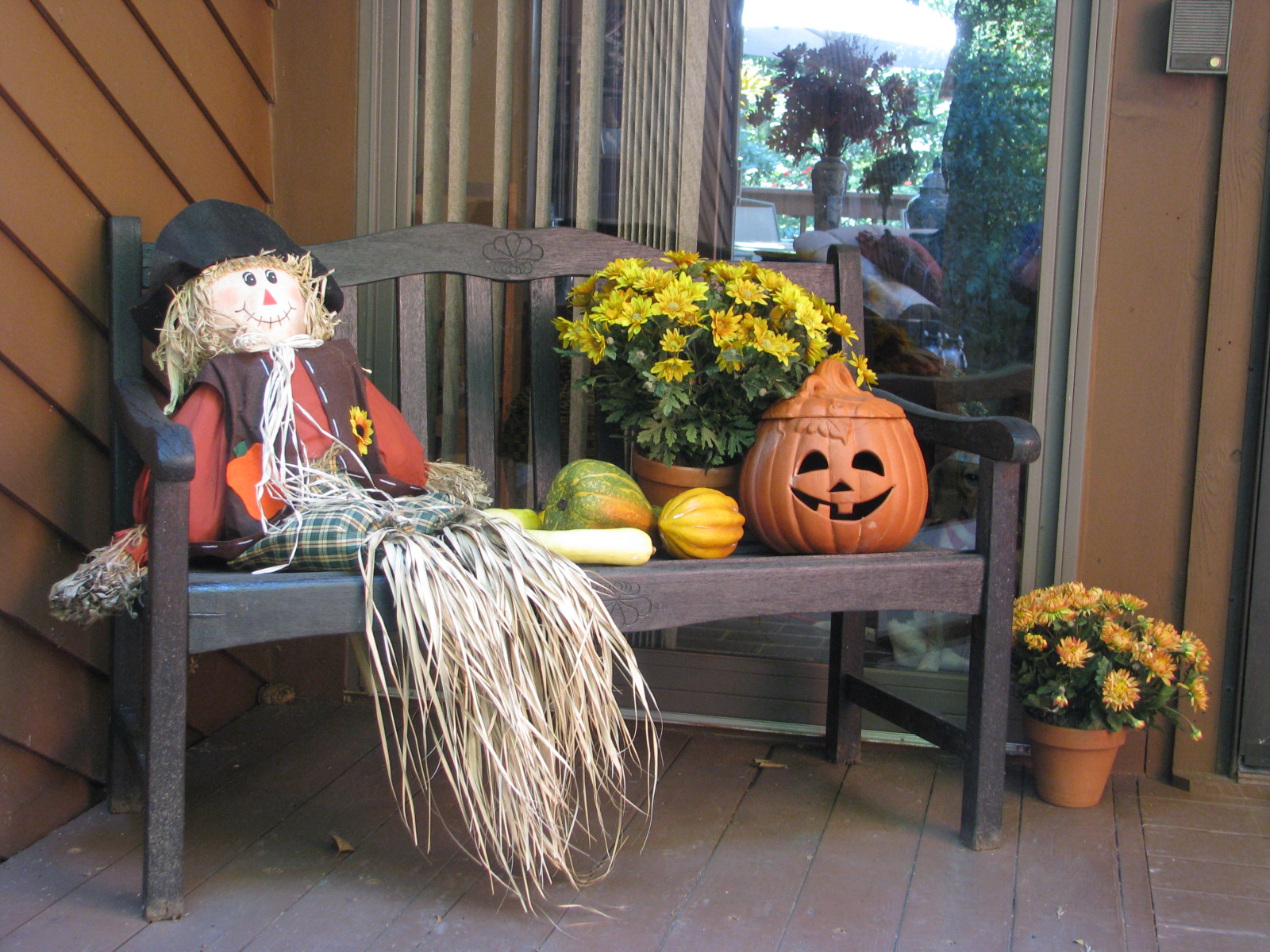 Designs by Pinky: My Fall Porch