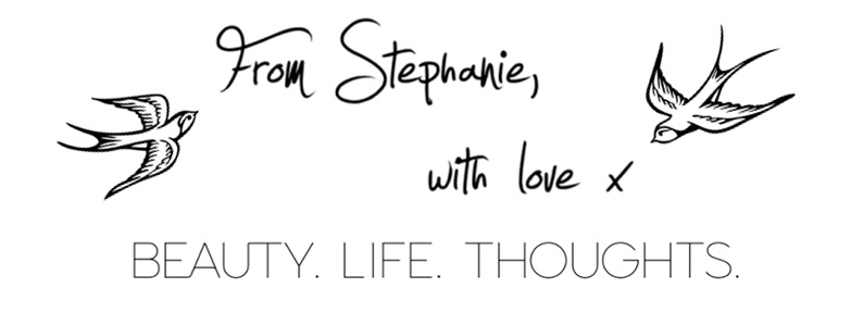 From Stephanie, with love