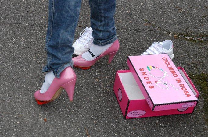 Туфли для детей на каблуке