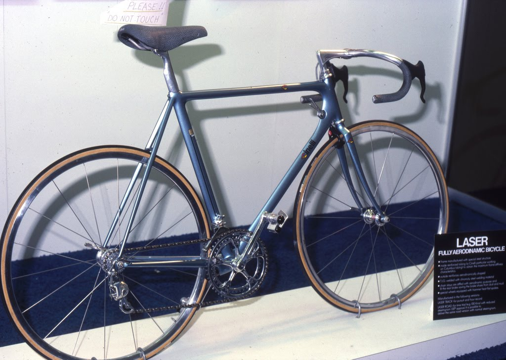 A Fully Aerodymanic Laser On Display At The New York Bike Show In 1982