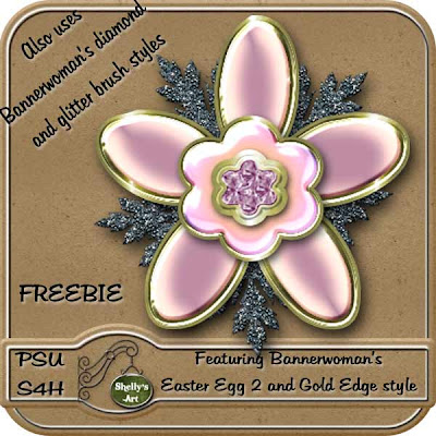 Freebie Easter Egg Flower